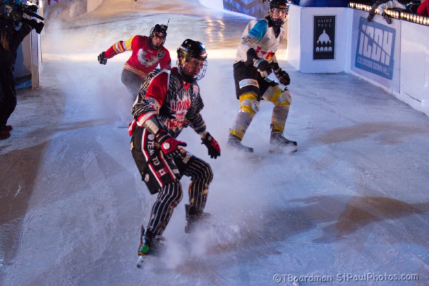 Red Bull Crashed Ice Saint Paul 2013
