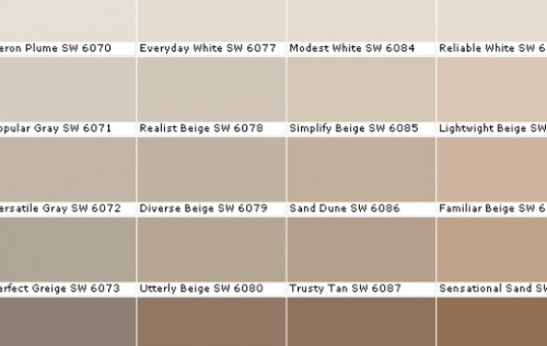 shades of beige - St. Paul Real Estate Blog