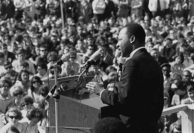 Dr. Martin Luther King Speaking at the University of Minnesota