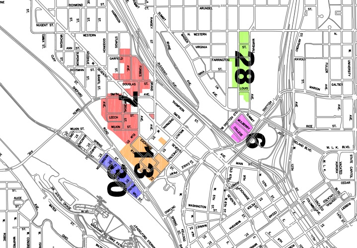 St Paul Traffic Map.Permit Parking And You St Paul Real Estate Blog