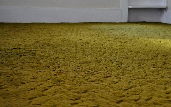 green carpet Green sculpted carpet