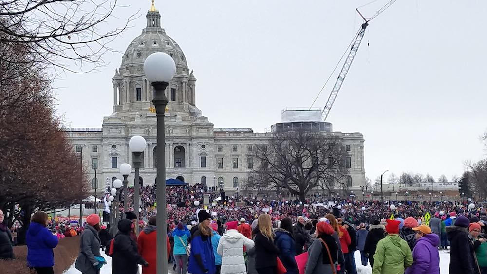 Women's March 1/21/2017 MN state capitol in St. paul