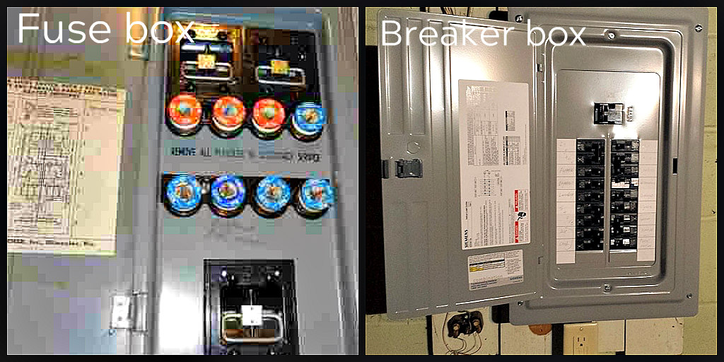 fuses and breakers
