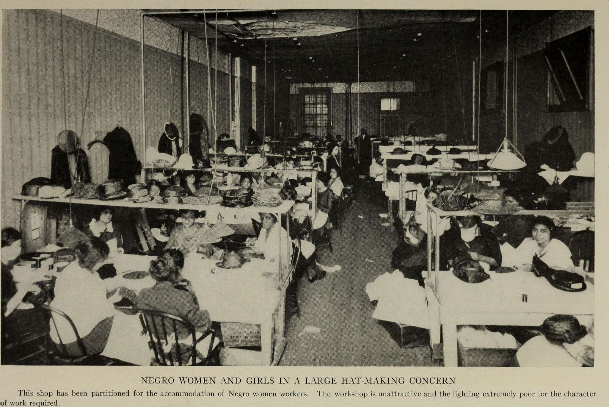 Hat factory 1922