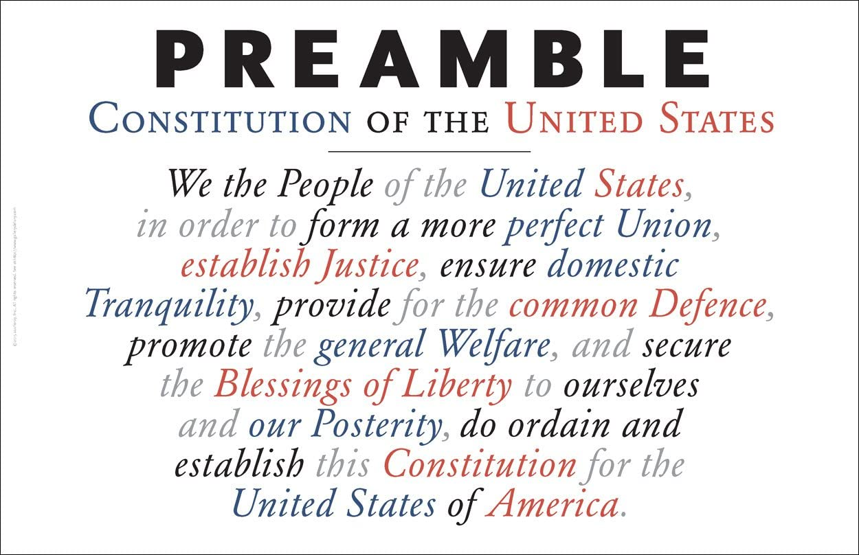 preamble to the consitution
