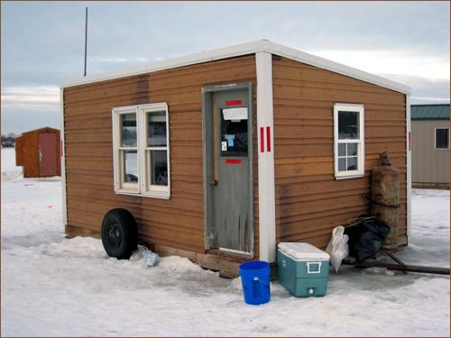 Ice fishing st paul real estate blog for Ice fishing shacks